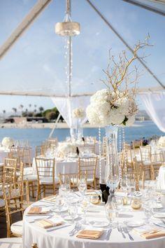 wedding centerpiece; photo: Joseph Matthew Photography