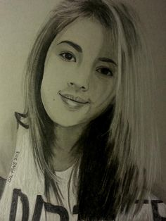 Габриела - Creative Art in Sketching by Gil Fong at Touchtalent
