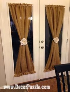 diy french door curtains and blinds, french country curtain ideas 2015
