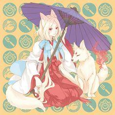 Image about anime in Manga by thishotfoxy on We Heart It Anime Wolf, Anime Neko, Cute Anime Character, Character Art, Character Design, Manga Girl, Anime Art Girl, Loli Kawaii, Fox Girl