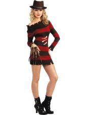 Nightmare on Elm Street Miss Kreuger Costume for Women - Halloween City