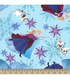 Shop fabric of your favorite TV show and movie characters at JOANN. Find fabric from Disney, Frozen, Minions, Walking Dead, Avengers superheros and more! Frozen Kids, Frozen Sisters, Frozen Party, Disney Frozen, Online Craft Store, Craft Stores, Frozen Fabric, Joanns Fabric And Crafts, Ice Skating