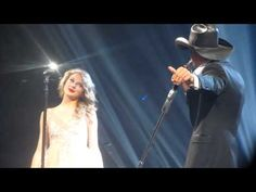 "Taylor Swift and Tim McGraw performing ""Just to See You Smile"". Such a CUTE video!"