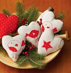 Heartfelt Ornaments | AllPeopleQuilt.com