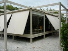 1952 - The Walter W. and Elaine Walker Guest House - designed by Paul Rudolph with Ralph Twitchell