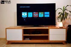 Rack Consola  Para Tv Lcd Paraíso Macizo Break Point AR - $ 16.000,00
