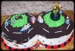 Go Kart Cake Ideas 3.bp.blogspot.com Go Kart Party, 8th Birthday, Birthday Ideas, Birthday Cakes, Mario Cake, Cupcake Cakes, Cupcakes, Mario Party, Yummy Treats