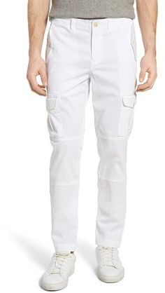 Men's Michael Bastian Straight Fit Garment Dyed Cargo Pants #affiliate