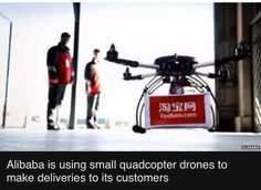 Is it a bird? Is it a 'plane? No. It's #Alibaba commencing drone deliveries. #worldinbeta http://m.bbc.co.uk/news/technology-31129804 …