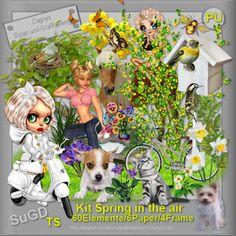 Dagny`s Scrap und Grafik Design: PU Kit Spring in the air