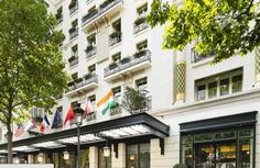 The luxurious Hotel Napoleon Paris is located just minutes from the bustling Champs- Elysées. This elegant hotel is also close to the iconic Eiffel Tower.