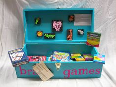 Child Development is a great project to learn about your younger siblings, learn about being a teacher or just getting to know why we act like we do when we are young. Brook E. competed with her Brain Games box at the 2015 Indiana State Fair and she received a Special Merit for her hard work.