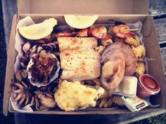 "Fish Market Cafe - Sydney Fish Market at Bank Street - Pyrmont  ""Simple, fresh, high quality seafood & absolutely YUM ♥ !!!"""