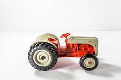 A personal favorite from my Etsy shop https://www.etsy.com/listing/253395056/vintage-die-cast-ford-8n-tractor-ertl