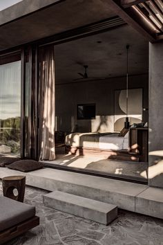 Ambiance naturelle et minérale au Casa Cook Chania - Frenchy Fancy