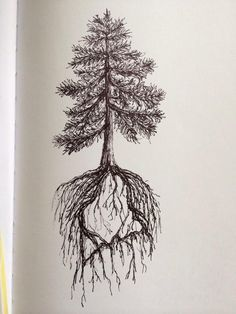 Pine Tree State tattoo design by ramble-inthe-roots.deviantart.com on @deviantART