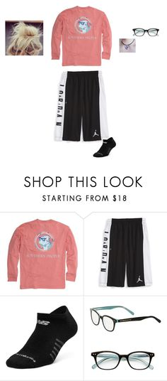 """""""Home"""" by shiyanemcnab on Polyvore featuring Southern Proper, NIKE, New Balance and Kate Spade"""