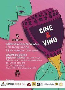 Cartel Cine&Vino 60ª SEMINCI