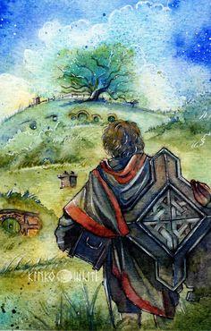 Bilbo: Back again... by Kinko-White on DeviantArt