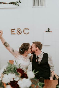 Adorable reception moment | Image by Olivia Strohm Photography