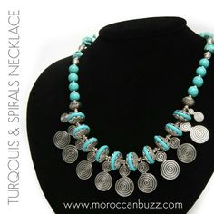 """Exquisite Berber design necklace. Approximately 18""""."""