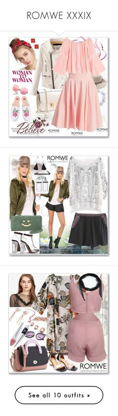 """ROMWE XXXIX"" by ane-twist ❤ liked on Polyvore featuring romwe and Nearly Natural"