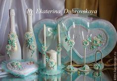 """Купить Свадебный набор """"Мечта"""" - свадебный набор, свадебные аксессуары, сваденые бокалы, сундук для денег"""