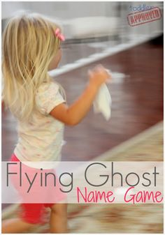 Toddler Approved!: Flying Ghost Name Game