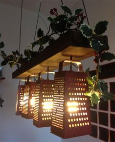 15+ Things That You Can Use Completely Differently Than Intended - You Can Use Graters To Make Lamp Shades