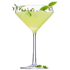 Basil-Thyme Gimlet | MyRecipes.com In this drink, gin is infused with the savory freshness of basil and thyme.