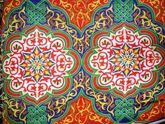 Other Home Décor Items Ramadan Crafts, Ramadan Decorations, Pattern Art, Pattern Design, Tent Fabric, Arabic Design, Decoupage Paper, Egyptian Art, Islamic Art
