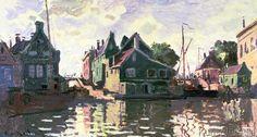 Claude Monet - Zaandam