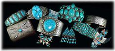 turquoise jewelry native american | Native American Turquoise Jewelry plays a major roll in the history of ...