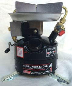 Coleman Peak 1 circa One of the best they ever made Outdoor Cooking Stove, Coleman Stove, Sleeping Under The Stars, Ultralight Backpacking, Stoves, Drip Coffee Maker, Hiking, Kitchen Appliances, Walks