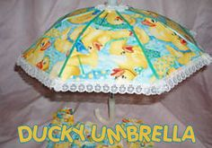 Image detail for -yellow rubber duck ducky umbrella baby shower party decorations