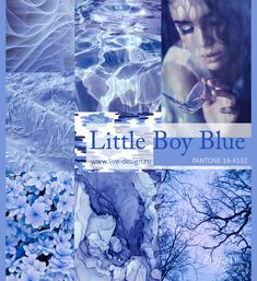 Модный цвет Pantone 2018 - Little Boy Blue