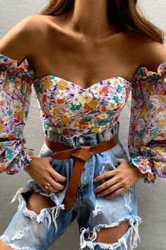 floral Runaway The Label, Bodice, Neckline, Saved By The Bell, Chic Outfits, Off The Shoulder, Lilac, Underwear, Glamour