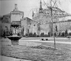 León, fotos antiguas, parque del cid