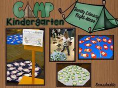Seusstastic Classroom Inspirations: Camp Kindergarten Family Literacy Night