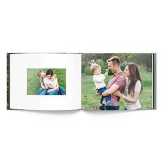 Classic bound pages are printed on premium archival paper with several page layouts to choose from.