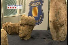 Recuperadas dos piezas arqueológicas robadas en el Alt Penedès