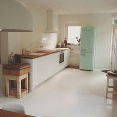 Glazen Achterwand Extra Helder Glas In Wit Gespoten Home Kitchen