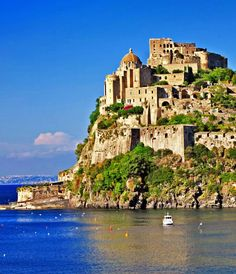 Aragonese Castle. Ischia, province of Naples , Campania region Italy