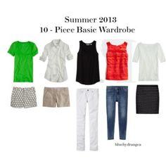 Summer 2013 Ten - Piece Basic Wardrobe