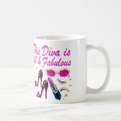 DAZZLING 40TH DIVA COFFEE MUG Enjoy our fabulous selection of 40th birthday gifts. Up to 50% Off Mother's Day Gifts & More 15% Off Sitewide Use Code: MOMGIFTS2017 http://www.zazzle.com/jlpbirthday/gifts?cg=196901469086304704&rf=238246180177746410  #40thbirthday #40yearsold #Happy40thbirthday #40thbirthdaygift #40thbirthdayidea #happy40th #40thbirthday