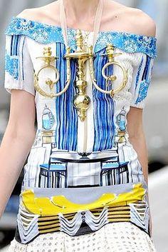 A Matter Of Style: DIY Fashion: Mary Katrantzou Spring 2011 Collection