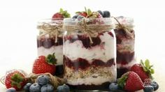 Overnight Yogurt Oats for a Ready-to-Go Breakfast Oatmeal Yogurt, Oatmeal Smoothies, Oatmeal Recipes, Great Desserts, Breakfast Recipes, Breakfast Ideas, Granola, Cooking Recipes, Superfoods