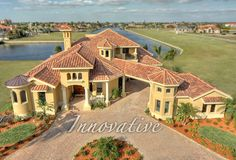 Cape Coral Florida Luxury Home Builders Gregory House, New Home Builders,  Mediterranean Homes,