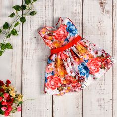 Flower Power from AnneBebe Flower Power, Floral Tops, Girls Dresses, Collection, Women, Fashion, Dresses Of Girls, Moda, Top Flowers