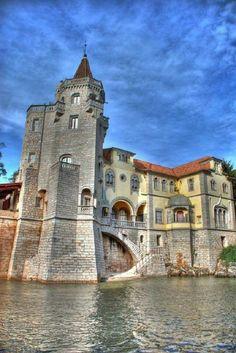 Castle in Cascais, Portugal.
